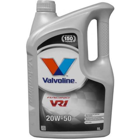 Motorový olej Valvoline VR1 Racing 20W-50 5l.