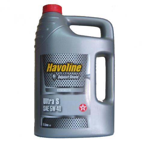 Motorový olej TEXACO Havoline Ultra S 5W-40 - 4l