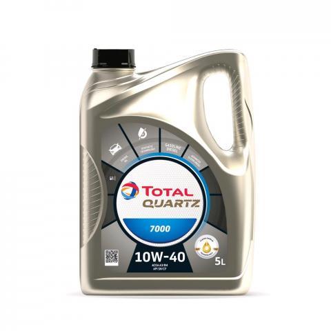 Motorový olej TOTAL QUARTZ 7000  10W-40 5L.