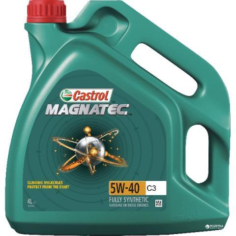 motorový olej CASTROL MAGNATEC C3 5W-40 4L