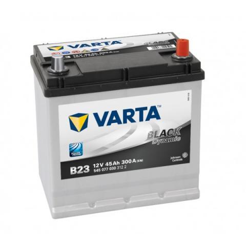Autobatéria VARTA BLACK dynamic 12V 45Ah 300A B23  ,  545077030