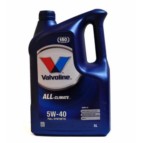Motorový olej Valvoline ALL Climate Diesel C3 5W40 5L.