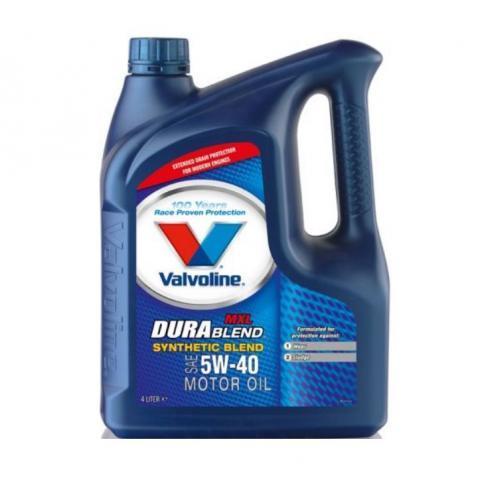 Motorový olej Valvoline All Climate 5W-40 4L.