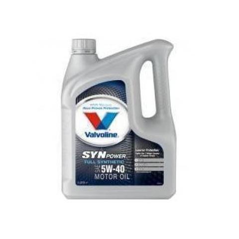 Motorový olej VALVOLINE SYNPOWER 5W-40 4L.