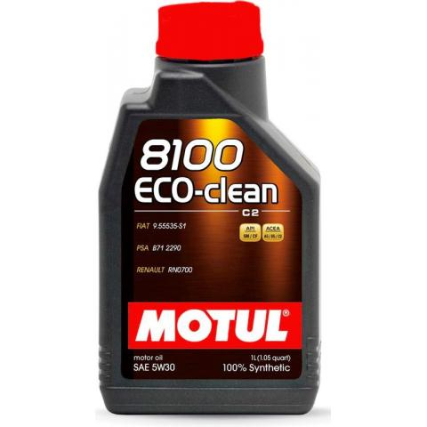 Motorový olej Motul 8100 Eco-Clean  5W-30 C2 1L.