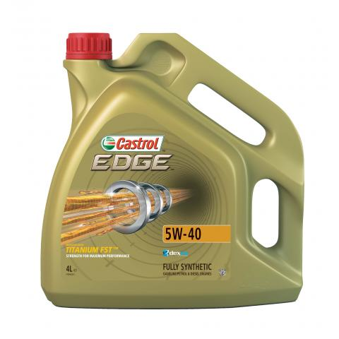 Motorový olej CASTROL EDGE Titanium FST 5W-40 4L.