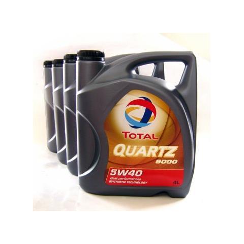 Motorový olej Total quartz 9000 5w-40 4x4l