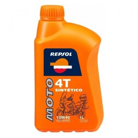 Repsol Moto Sintetico 4T 10W-40 1L.