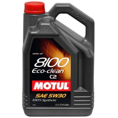 Motorový olej Motul 8100 Eco-Clean 5W-30 C2 5L.