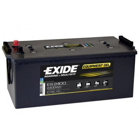 EXIDE EQUIPMENT GEL 12V 210AH 630A ES2400