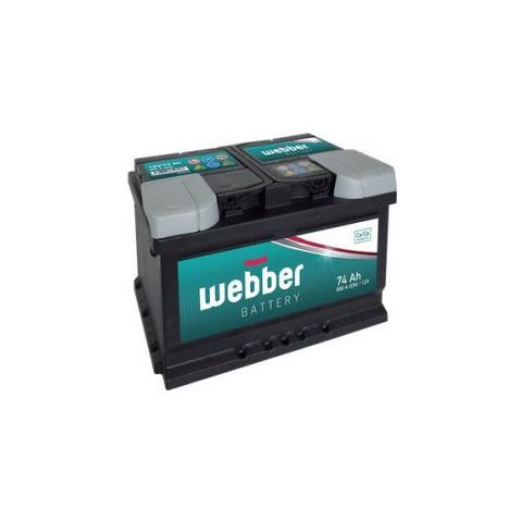 Autobateria WEBBER 12V 74AH 680A