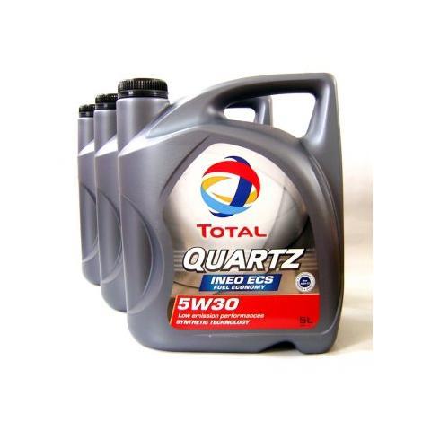 Motorový olej TOTAL Quartz Ineo  ECS 5W-30 3x5L