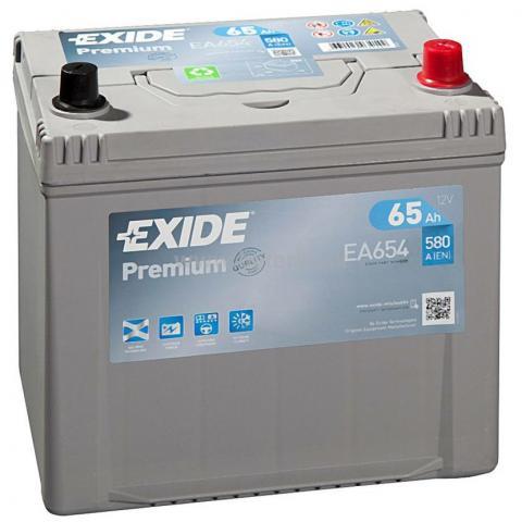 Autobatéria EXIDE Premium 65Ah, 12V, EA654