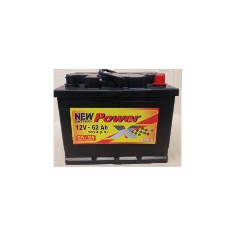 Autobateria PowerX new 12V/62 Ah Ca/Ca