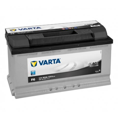 Autobatéria VARTA BLACK dynamic 12V 90Ah 720A F6  ,  590122072