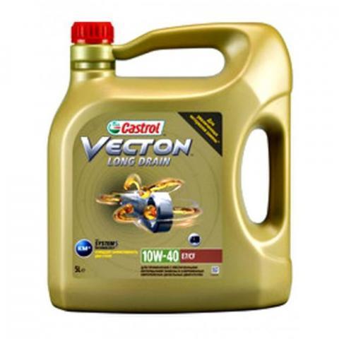 Castrol Vecton Long Drain E7 10W-40 5 L.