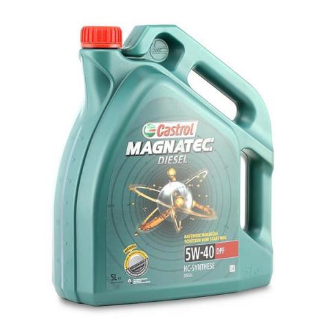 Motorový olej CASTROL MAGNATEC DIESEL 5W-40 DPF 5L.