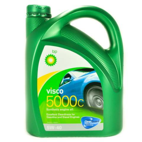 Motorový olej BP VISCO 5000 C 5W-40 - 4L